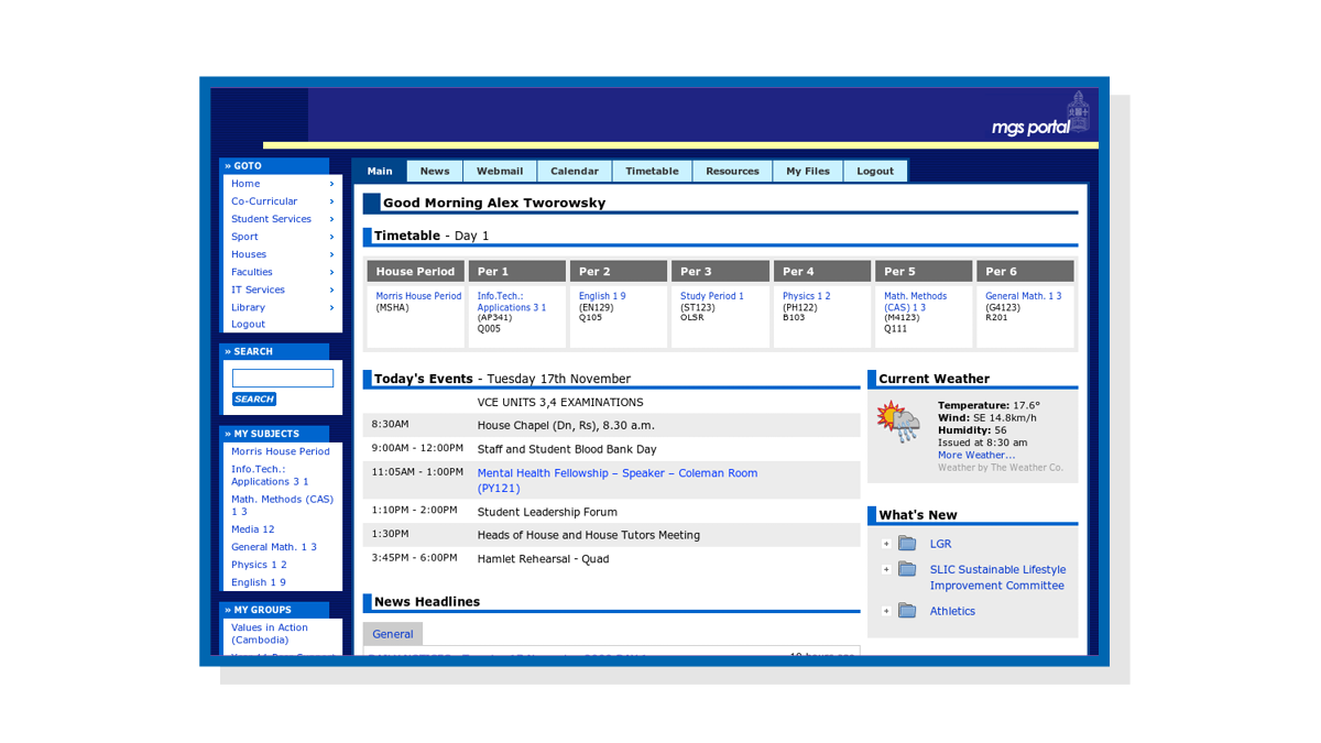 Screenshot of Portal (2002).