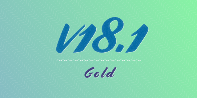Schoolbox v18.1 is now GOLD!